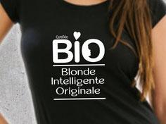 tee shirt cadeau maman blonde