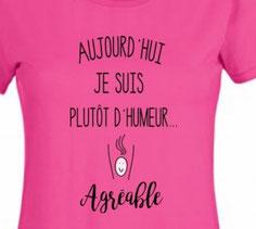 tee shirt femme sympa