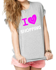 tee shirt femme shopping