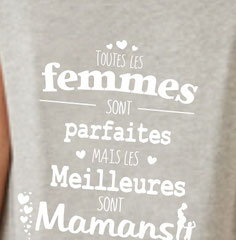 tee shirt cadeau maman