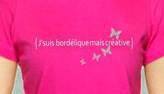 tee shirt message femme