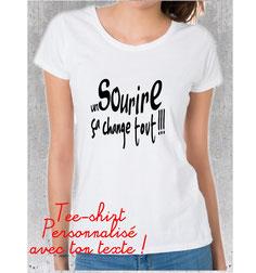 tee shirt femme perso