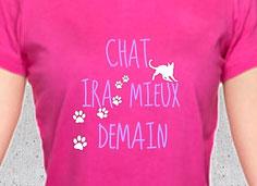 tee shirt cadeau femme chat siamois