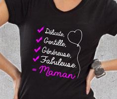 tee shirt pour maman