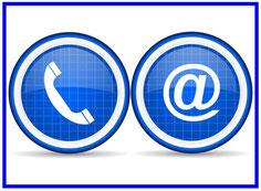 Kunden mit Telefonanlage & Computer