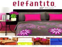 Elefantito ventas por catalogo de cobertores para cama, cortinas, cubiertas para sillones, edrecolchas, edredones, protector para colchon, sabanas. Elefantito empresa mexicana de venta directa