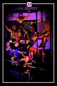 Fetishparty Köln Latex Sport Fitnessstudio Sex Musik BDSM