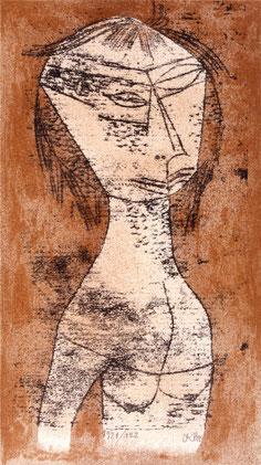 Paul Klee, Die Heilige vom innern Licht,1921, im Lindenau Museum Altenburg