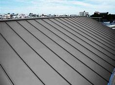 ガルバニウム鋼板屋根材