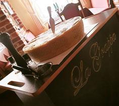 Grana Padano Käselaib Restaurant La Grappa Detmold