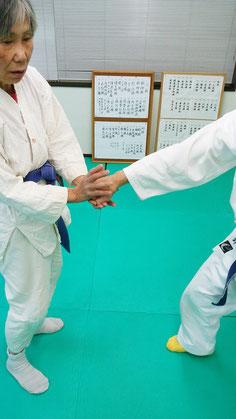 三段技 千葉県鎌ヶ谷市の八光流柔術健心会道場です。