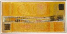 Sonne 30 X 60 Acrylmischtechnik