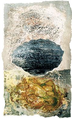 """""""STEIN SCHWEBT"""" 1999 © Siegfried Schütze"""
