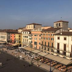 Ausblick von der Arena, Verona