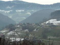 Blick vom Bueberg auf den Hinter Wiler von Bärschwil