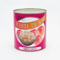 エリザ白桃ダイスカットライトシラップ,ストー缶詰株式会社