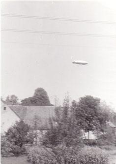 Luftschiff über Gräfenhain Anfang der 90er