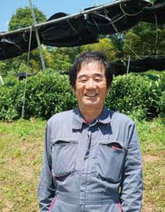 綾部市茶生産組合連合会 会長 中田 義孝さん(位田町)
