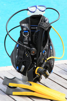 Equipments of HiRO DiVE BORA BORA