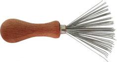 Keller Bürstenreiniger, Haarbürste reinigen