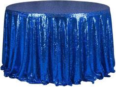 tissu sequin pour nappe de table