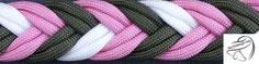 5-Strand Braid (doppelt) ca. 20mm, bis 5 Farben möglich