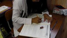 河原塾には、朝専用のテキストがあります。