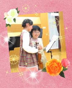 子供のバイオリンレッスン
