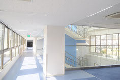 2F 明るい廊下