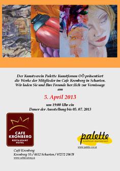 Ausstellung mit dem Kunstverein Kunstforum Palette OÖ