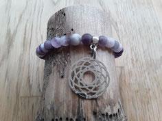 Edelstein Armbänder in violett