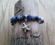Edelstein Armbänder in blau