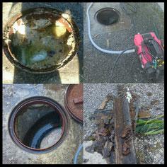 屋外排水管の尿石のつまりなどで、水が流れなくなってしまったら、大阪・奈良の口コミ・評判のいい水道屋【水道便利屋さん】まで、お電話を!