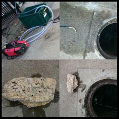屋外排水管の長年の油つまりなどで、水が流れなくなってしまったら、大阪・奈良の口コミ・評判のいい水道屋【水道便利屋さん】まで、お電話を!