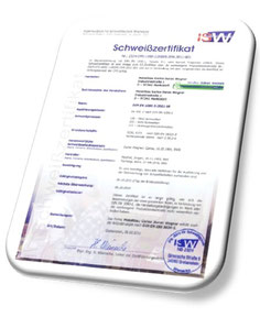 Download >> Schweisszertifikat