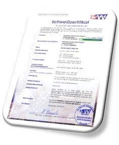 Download >> Schweisszertifikat