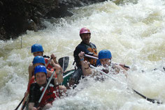 Arenal Combo Tour:  Canyoning + Rafting