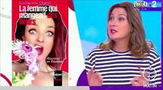 Interview Télématin Olivia de Lamberterie La Femme qui Mangeait des Fleurs Guillaume Cherel