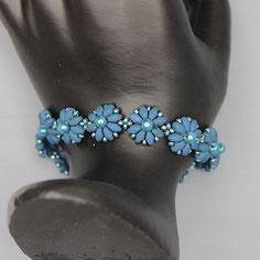 Armband Blau Miyuki Duo