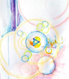 dessin intuitif, severine saint-maurice, lescerclesdelumiere.com, rosace