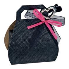 Handtaschen Schachtel rosa