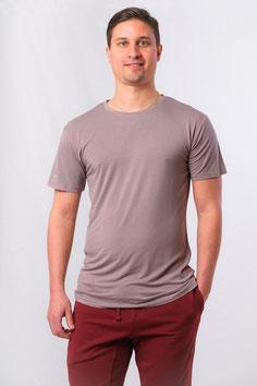 Herren Yoga T-Shirt grau