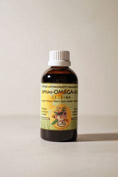 Nahrungsergänzung Omega Öl, rein pflanzlich, vegan