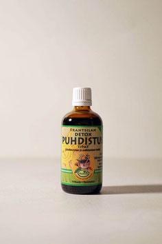 Nahrungsergänzung Detox und Entschlackung Tropfen, rein pflanzlich, vegan