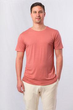 Herren Yoga T-Shirt brick