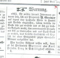 Amtliches Verkündigungsblatt Oktober 1843