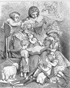 Gustave Doré, Frontispice des Contes.