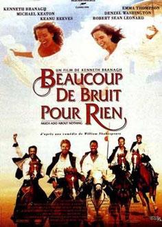 Kenneth Branagh, Beaucoup de Bruit pour rien, 1993.