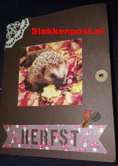 Herfst abc snailmail - slakkenpost.nl