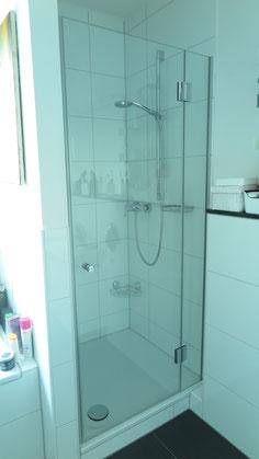 Dusche 2 teilig